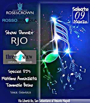 ROSE & CROWN Discopub San Sebastiano al Vesuvio, sabato 9 Marzo
