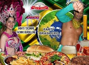Taverna COS E PAZZ Licola sabato 7 Dicembre BRASIL SHOW e Disco
