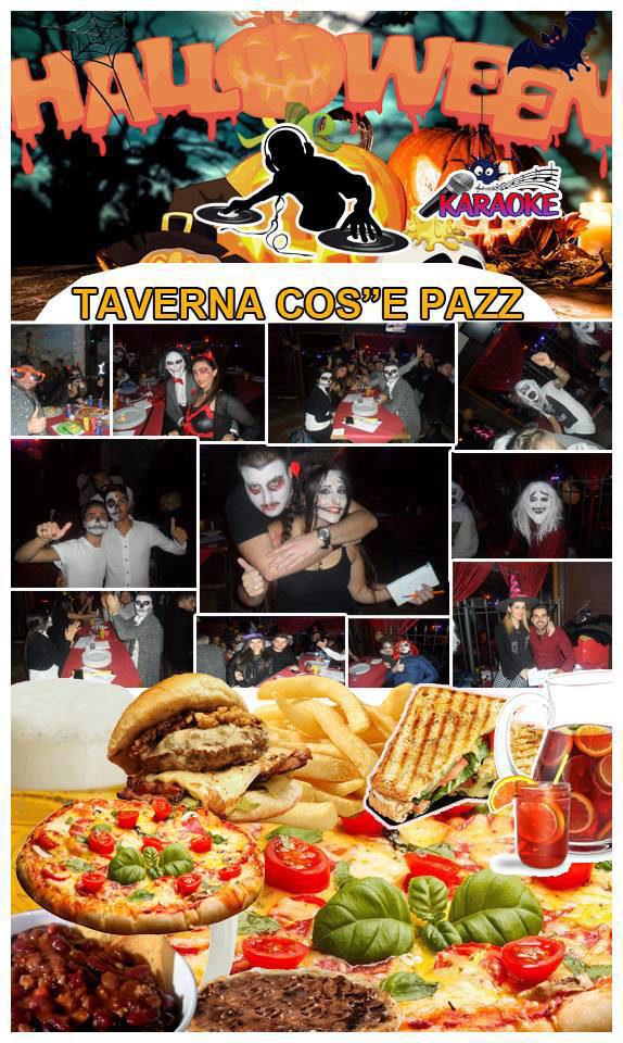 Halloween Party TAVERNA COS E PAZZ Impero II Licola