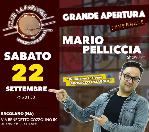 Taverna La Paranza Ercolano, sabato 22 settembre Tamburriata show