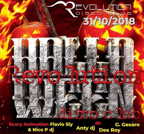Halloween party al REVOLUTION DISCO di Pagani