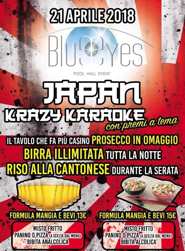 BLUE EYES Discopub Sant'Anastasia, sabato 21 aprile Party a tema e Karaoke