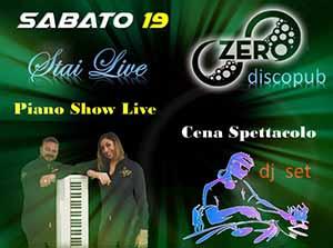 ZERO Madras Discopub Pozzuoli Sabato 19 Ottobre Piano Show e Disco