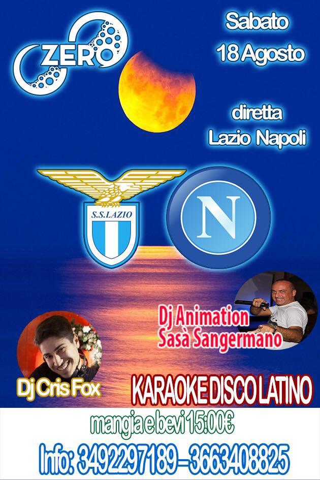 ZERO Madras Discopub Pozzuoli, sabato 18 agosto diretta Napoli e Disco