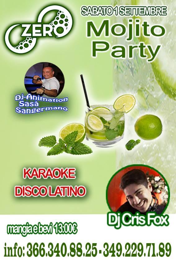 ZERO Madras Discopub Pozzuoli, sabato 1 settembre Karaoke e Moijto Party