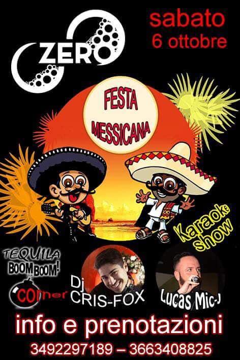ZERO Madras Discopub Pozzuoli, sabato 6 ottobre FIESTA MESSICANA, karaoke e Disco