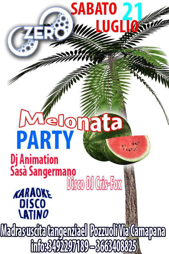 ZERO Madras Discopub Pozzuoli, sabato 21 luglio karaoke e Anguria party