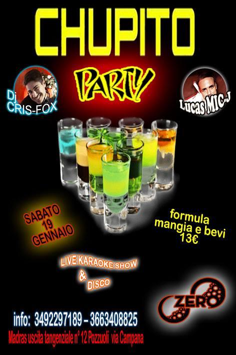 ZERO Madras Discopub Pozzuoli, sabato 19 gennaio Karaoke e Chupito Party