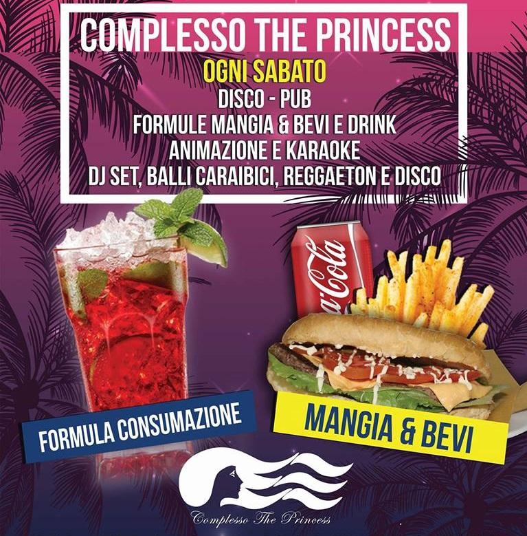 PRINCESS Discopub San Sebastiano al Vesuvio, sabato 14 aprile Karaoke e Latino