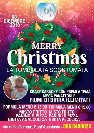 BLUE EYES Discopub Sant'Anastasia, sabato 8 dicembre Tombolata Scostumata e karaoke