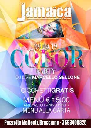 JAMAICA happy pub Brusciano, Sabato 9 Marzo karaoke, party a tema e disco