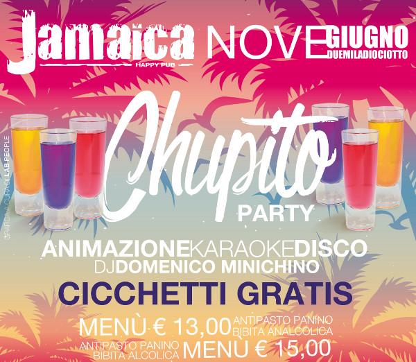 JAMAICA happy pub Brusciano, sabato 9 giugno Cicchetto party