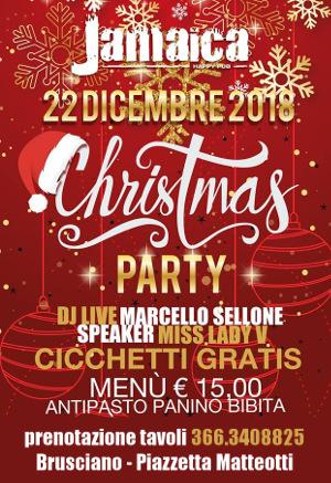 JAMAICA happy pub Brusciano, sabato 22 dicembre Party a Tema e Disco