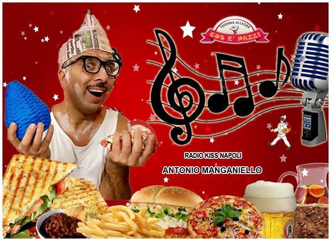 Taverna COS E PAZZ Licola sabato 17 novembre cabaret Antonio Manganiello