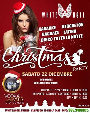 WHITE ANGEL Discopub Nola, sabato 22 dicembre Karaoke, Party a tema e Disco