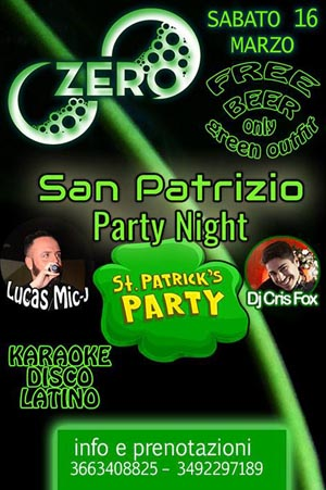 ZERO Madras Discopub Pozzuoli Sabato 16 Marzo Karaoke, Latino e disco