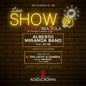 ROSE & CROWN Discopub San Sebastiano al Vesuvio, sabato 19 gennaio Live Music e Disco
