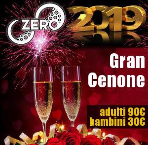 ZERO PLACE ex Madras Capodanno 2019 – Cenone
